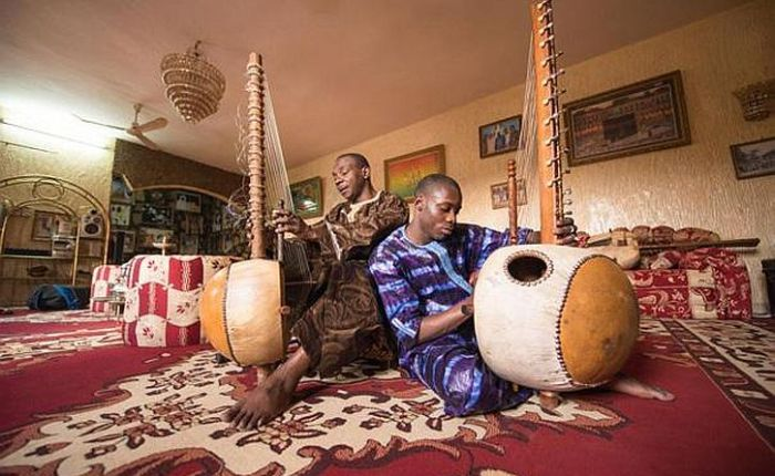 Toumani and Sidiki Diabate: latest of 71 generations of Malian griots inLiverpool