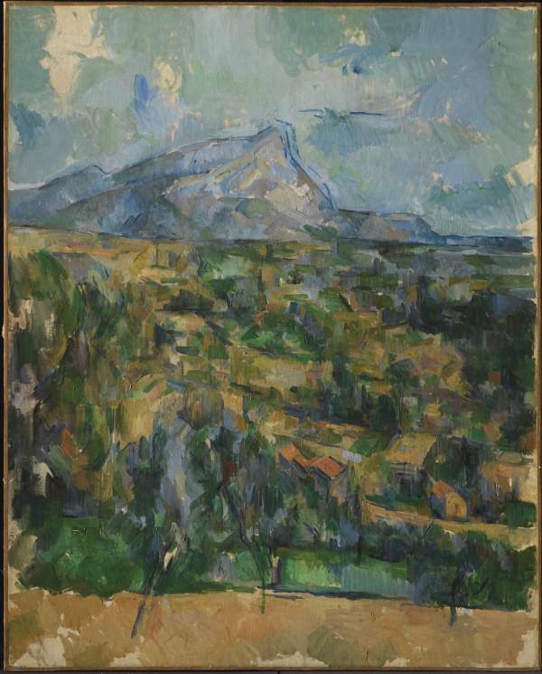 Cezanne, Mont Sainte-Victoire, c 1902