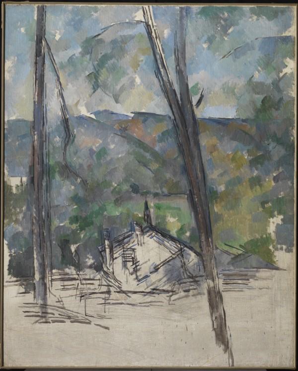 Cezanne, Route to Le Tholonet, 1900–1904