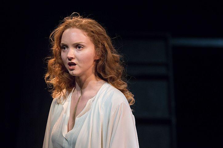 Lily Cole as Helen of Troy Photo-Jonathan-Keenan