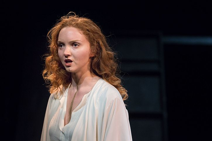 Lily Cole as Helen of Troy Photo-Jonathan-Keenan