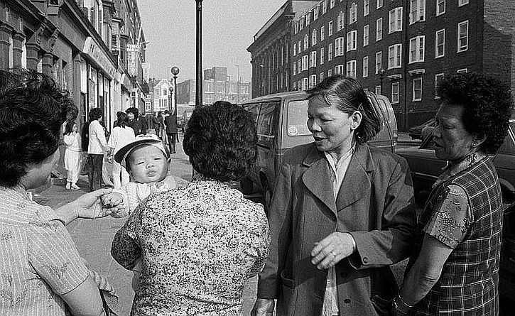 Martin Parr, Chinatown, Sunday Afternoon, 1984