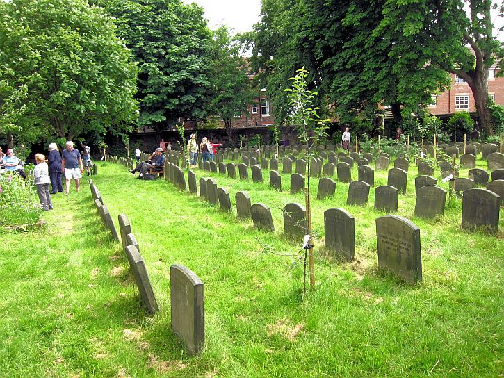 Quaker burial ground 4