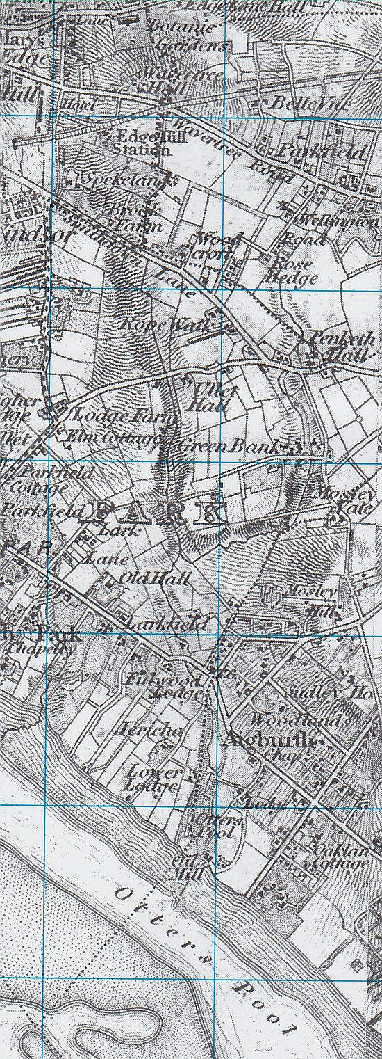 Upper and Lower Brooks 1840 map