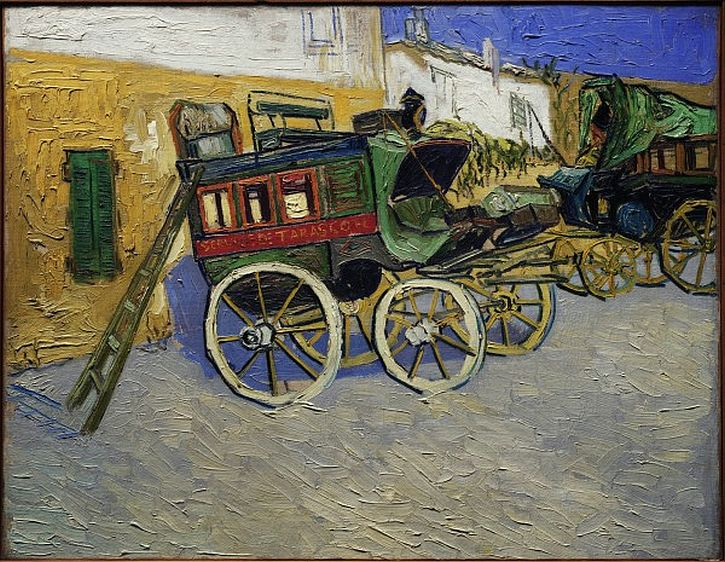 Van Gogh, Tarascon Stage Coach, 1888