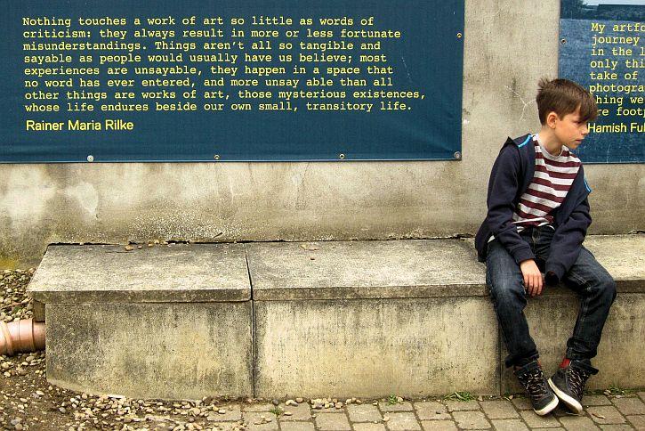 YSP Rilke quote