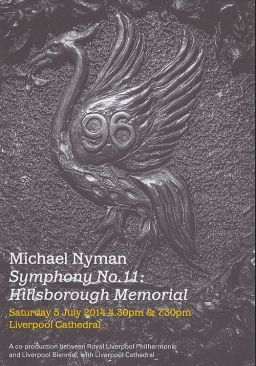 Michael Nyman's Hillsborough Memorial