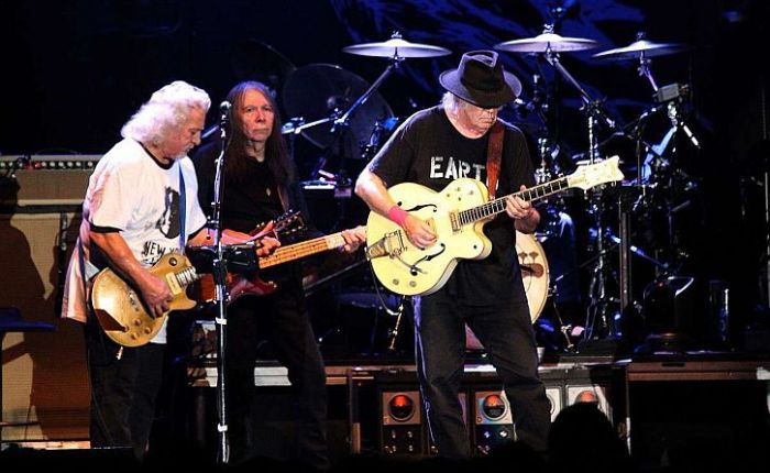 Neil Young and Crazy Horse at Liverpool Arena: age cannot wither them