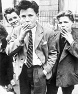 Boys smoking, London, 1956 by Roger Mayne