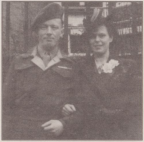 wedding photo 1945
