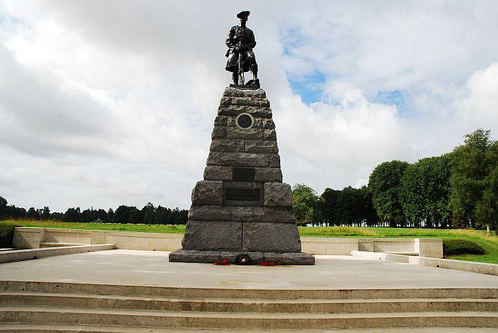 Beaumont Hamel 51st Division memorial