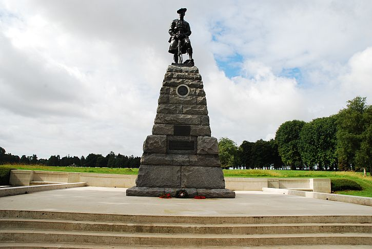 Beaumont Hamel 51st Division memorial
