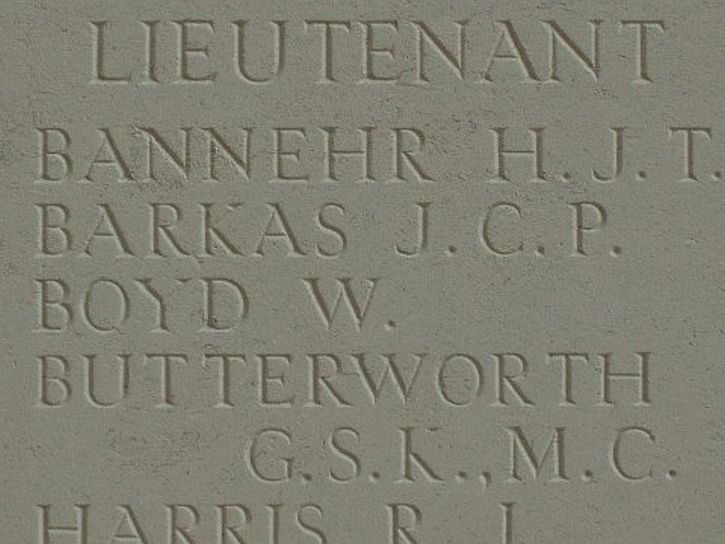 Butterworth Thiepval