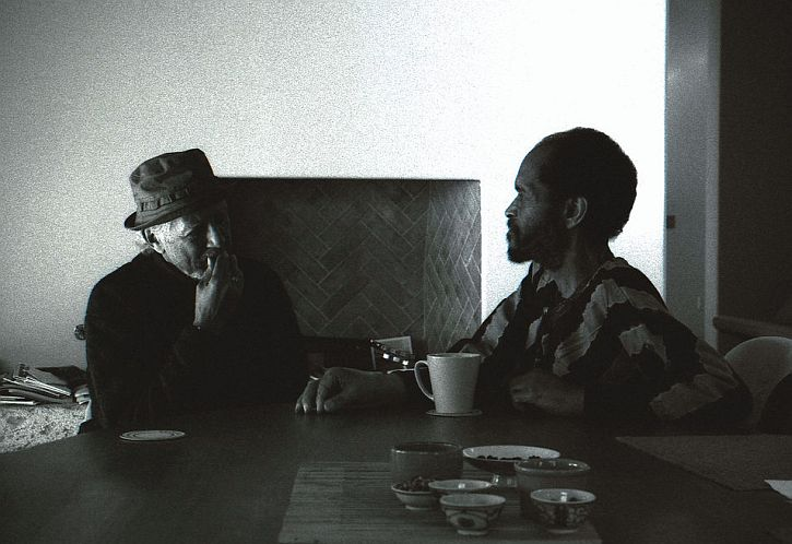 Charles Lloyd and Billy Higgins by Dorothy Darr