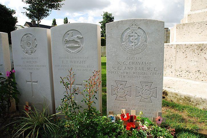 Chavasse grave