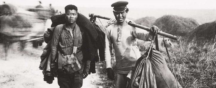 Members of the Chinese Labour Corps in France