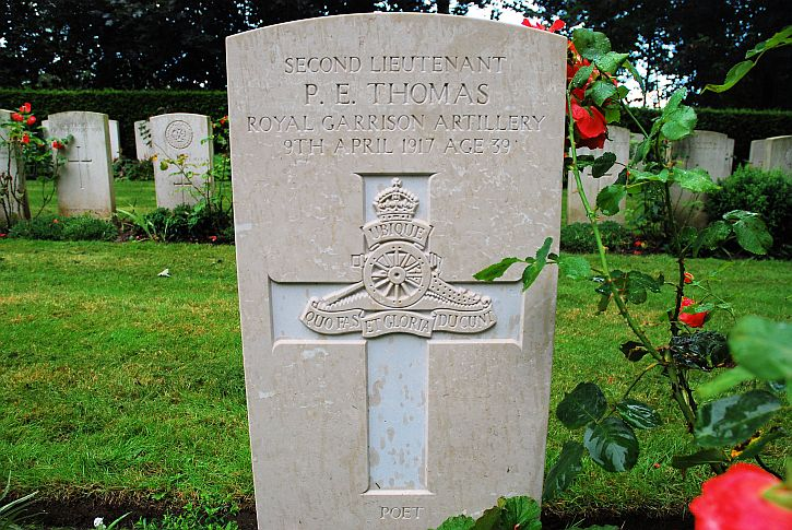 Edward Thomas grave