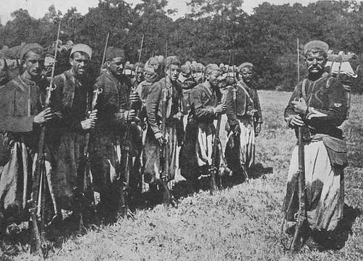 French Zouaves North African soldiers in 1WW