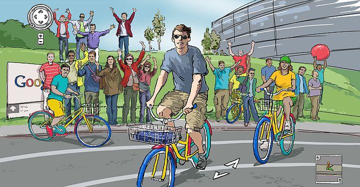 Google campus scene 1