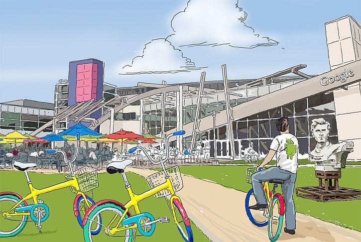 Google campus scene 2