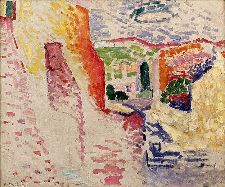 Henri Matisse Collioure rue du soleil 1905