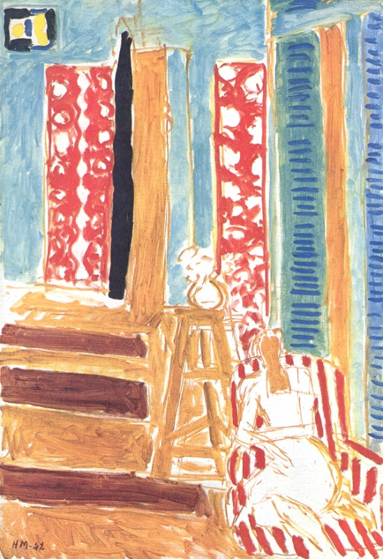 Henri Matisse, Interior with Bars of Sunlight, 1942