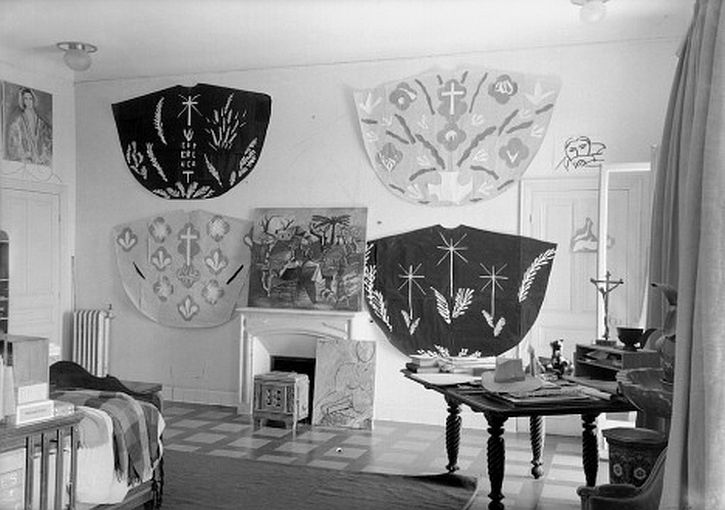Henri Matisse's chasuble designs for the Vence chapel by Helene Adant
