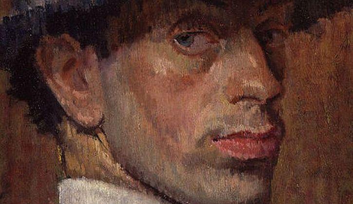 Isaac Rosenberg self portrait