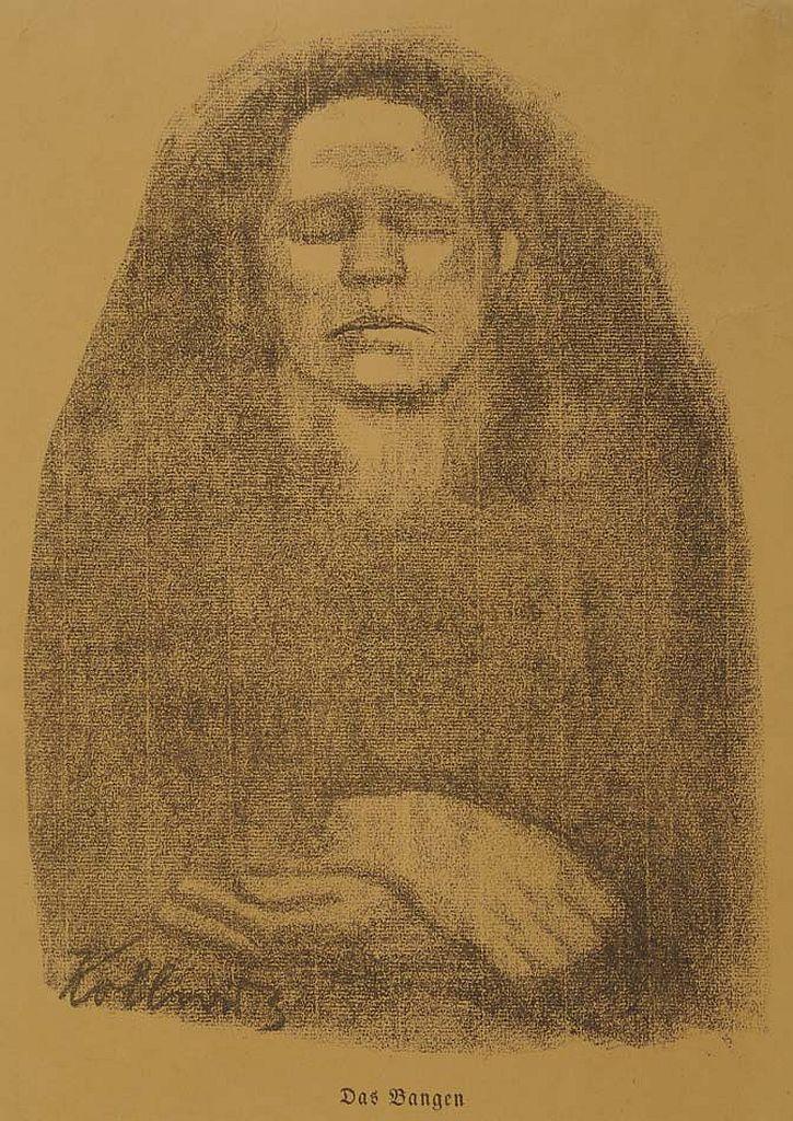 Käthe Kollwitz, The Wait, 1914