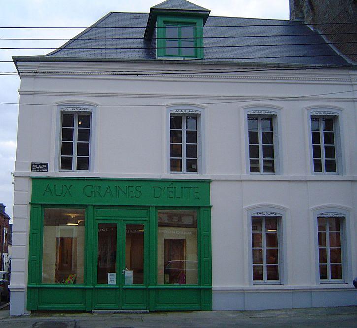 La Maison familiale d'Henri Matisse, au 26 rue du Château à Bohain
