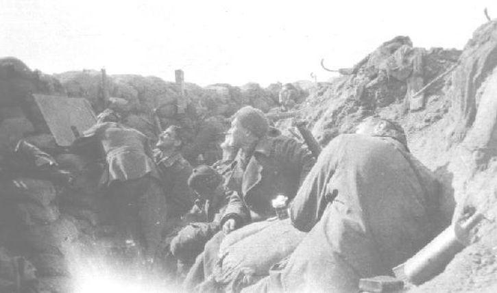 Liverpool Scottish trench, 1915