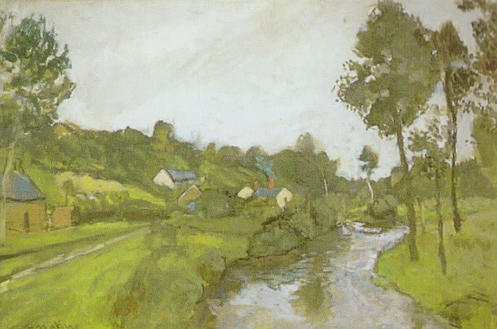 Matisse, Countryside, Lesquielles St Germain, 1903