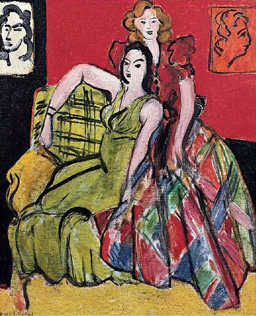 Matisse, Deux jeunes filles, 1941