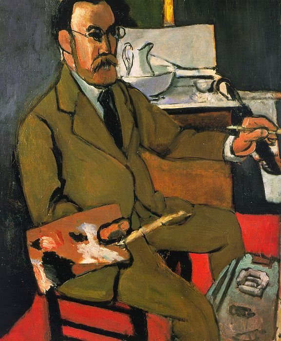 Matisse, self-portrait,1918