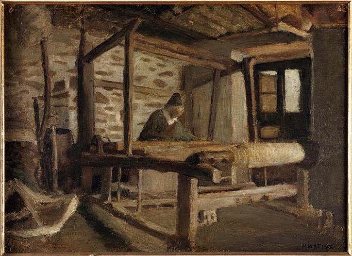 Matisse, The Breton Weaver, 1895