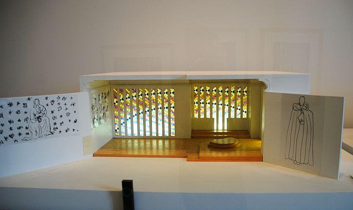 Musee Matisse Vence chapel maquette Les Abeilles