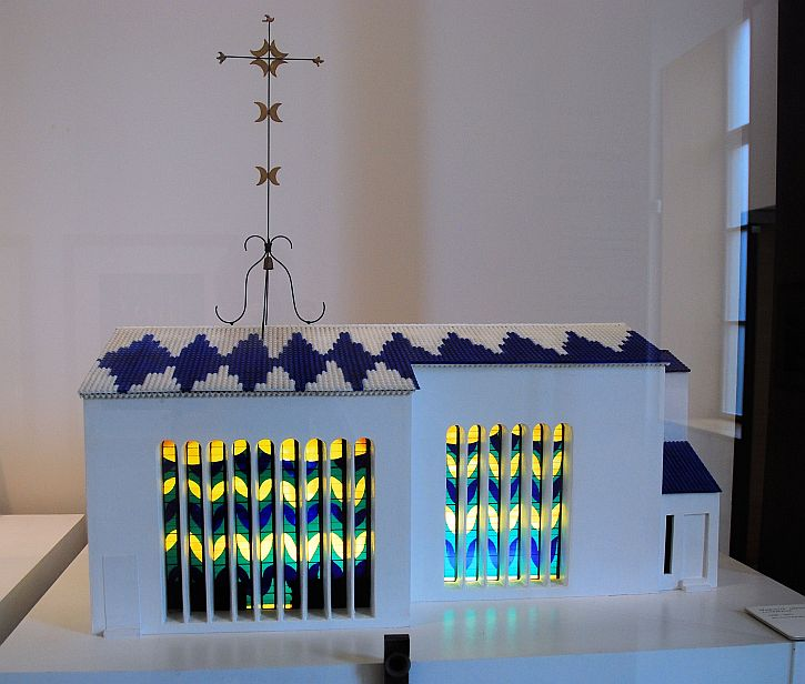 Musee Matisse Vence chapel maquette
