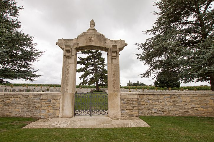 Noyelles-sur-Mer Chinese Cemetery