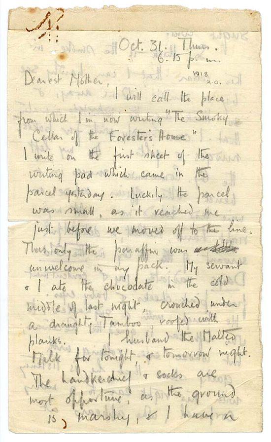 Owen last letter