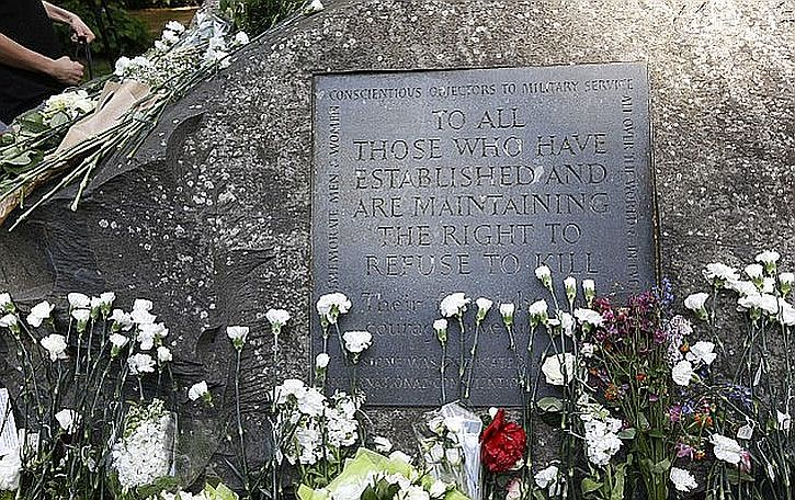 Tavistock Square memorial