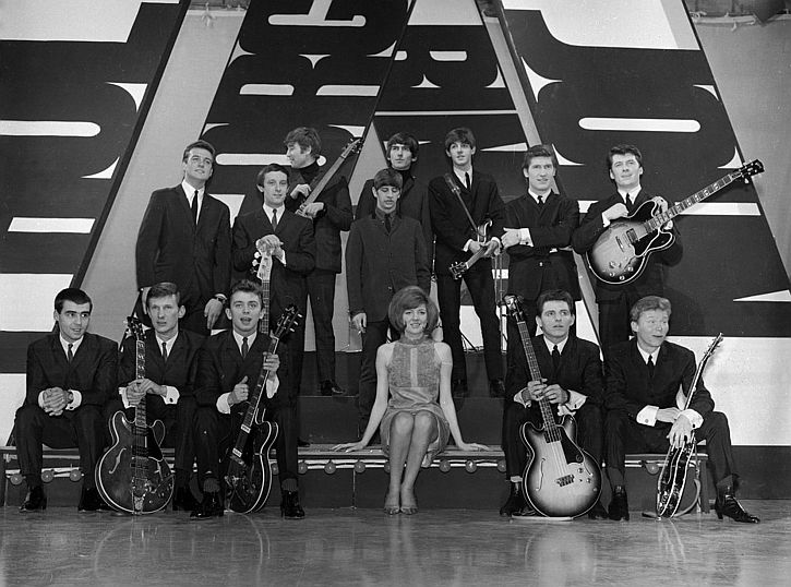 Cilla, Billy J Kramer & Dakotas, Beatles, Searchers all-Merseyside special edition Thank Your Lucky Stars 1963