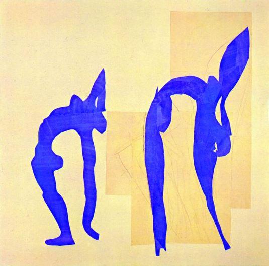 Matisse, Acrobats,1952