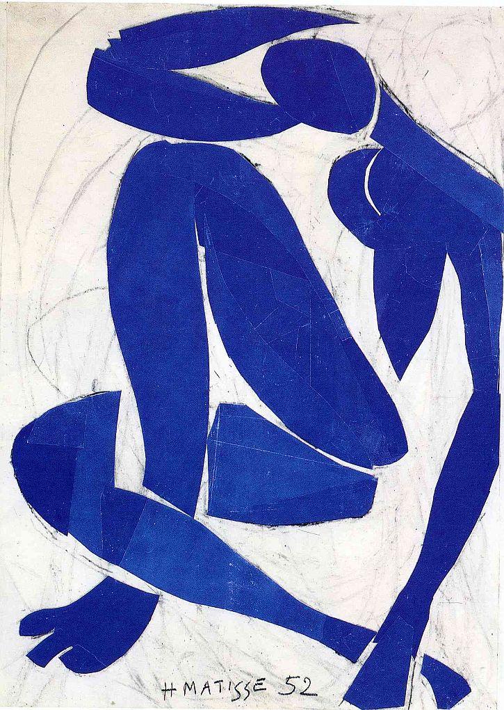 Matisse, 'Blue Nude IV', 1952