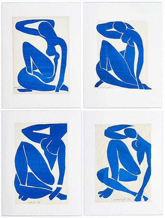 Matisse, Blue Nudes