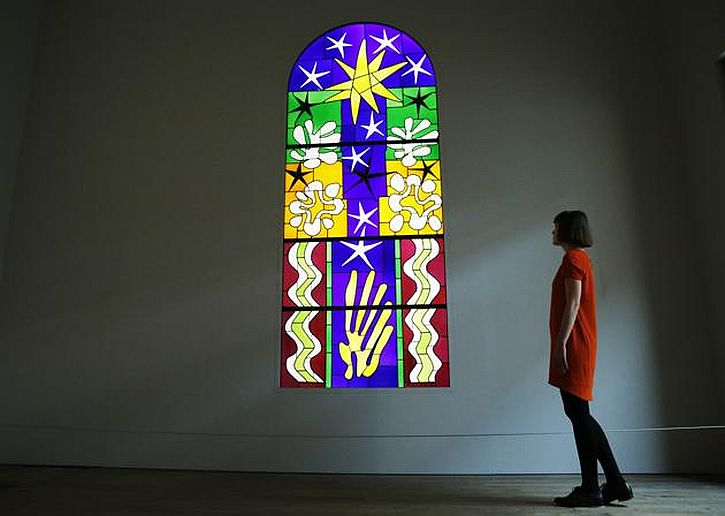 Matisse, Christmas Eve (stained glass), 1952
