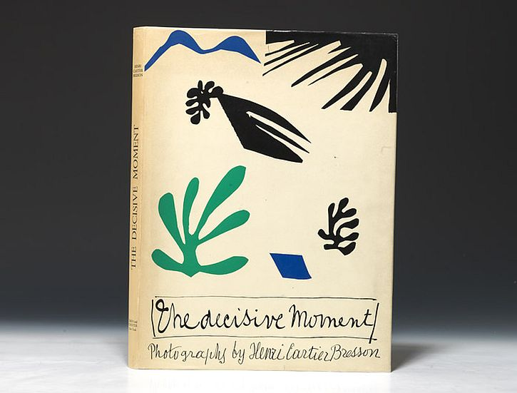 Matisse, cover for Decisive Moment, 1952