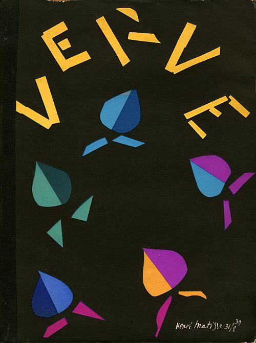 Matisse, cover, VERVE, Volume 2, Number 8 (Sept-Nov 1940)