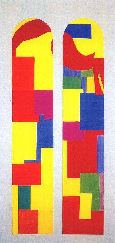 Matisse, Celestial Jerusalem,1948