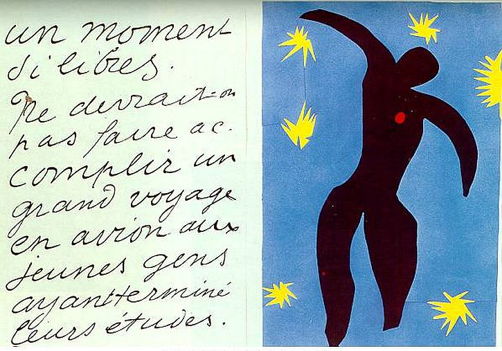 Matisse, Jazz, Fall of Icarus