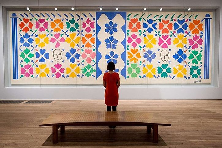 Matisse, Large decoration with Masks, 1953